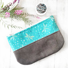 Dragonfly Zippered Pouch