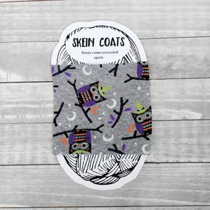 Halloween Owls Skein Coat for Knitting & Crochet