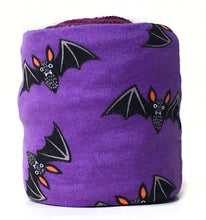 Halloween Purple Bats Skein Coat for Knitting & Crochet