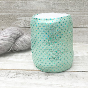 Sea Glass Mint Green Skein Coat