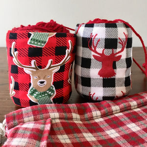 Buffalo Check & Deer Plaid Christmas Skein Coat