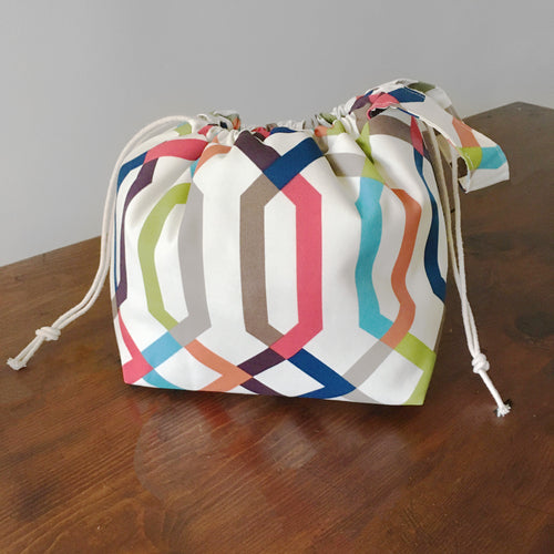 Jelly Bean Drawstring Project Bag