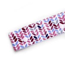 Pink & Purple Knit Stitch Printed DPN Keeper