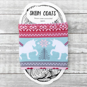 Unicorn Fair Isle Patterned Christmas Skein Coat