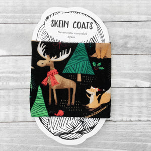Merry Christ-Moose Skein Coat
