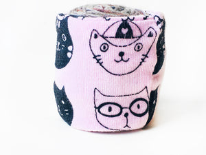 Mini Pink Cat Lovers Yarn Bowl Skein Coat