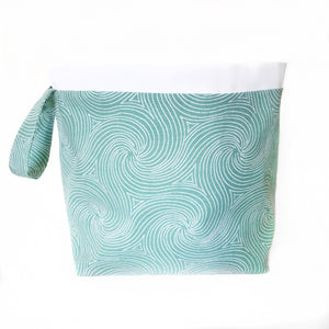 Ocean Jumper Drawstring Project Bag
