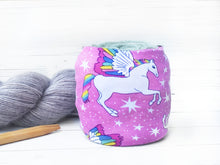 Rainbow Unicorn Yarn Cozy
