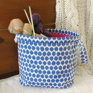 Plumpy Large Drawstring Project Bag