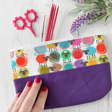 Rainbow Sheep Zippered Pouch