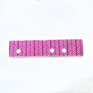 Raspberry Knit Print DPN Holder or Cozie