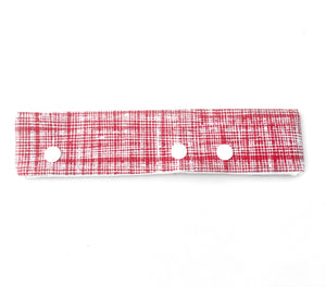 Red Scribble DPN Holder or Cozie