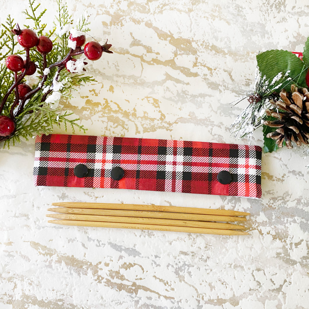 Red Christmas  Plaid DPN Keeper