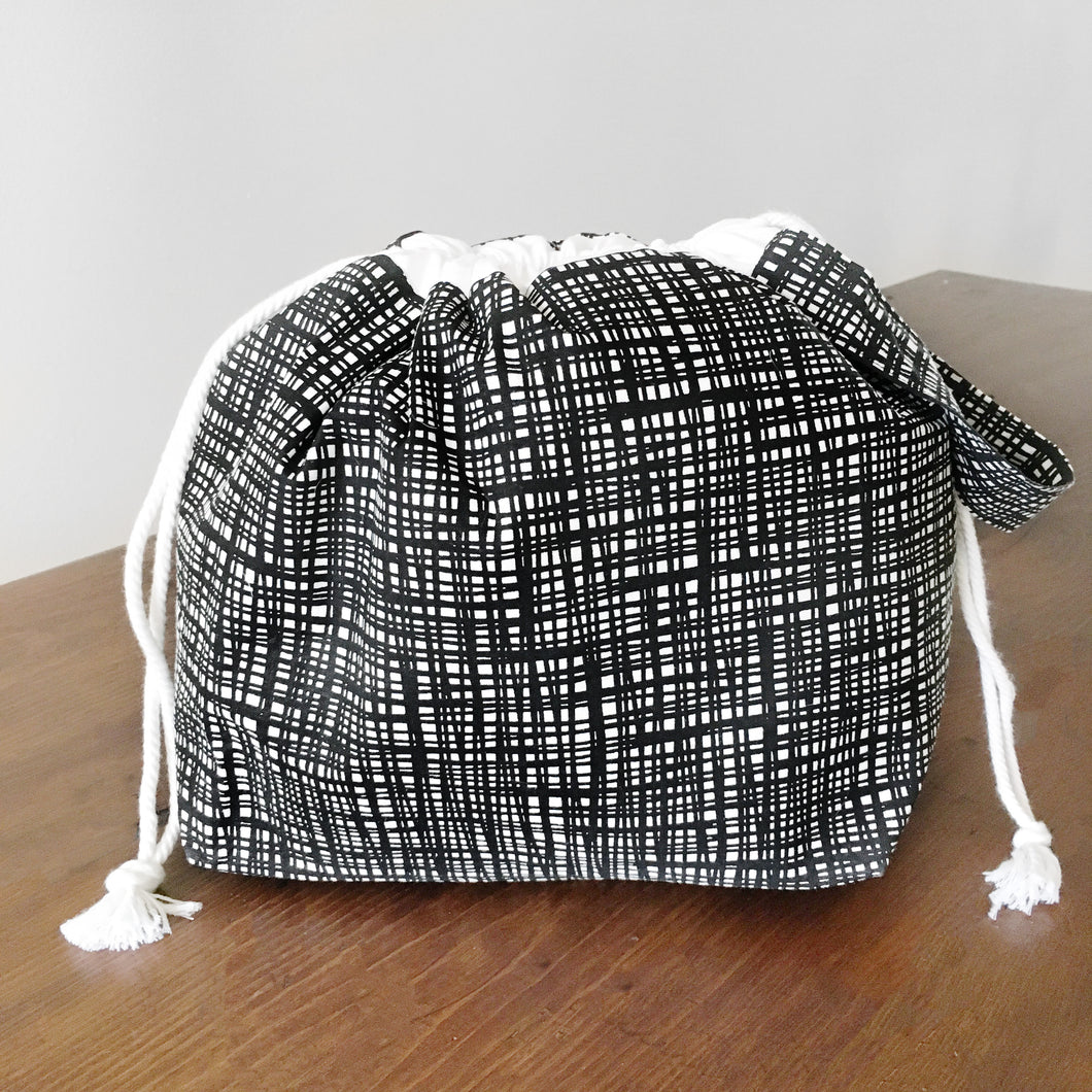 Scribble Jumper Project Bag