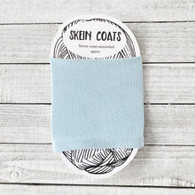 Solid Sky Blue Skein Coat