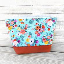 Summer Daydreams Flower Zippered Project Bag