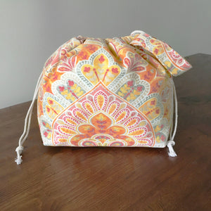 Sweet November Drawstring Project Bag