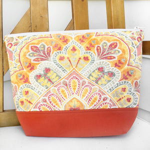 Sweet November Zippered Project Bag
