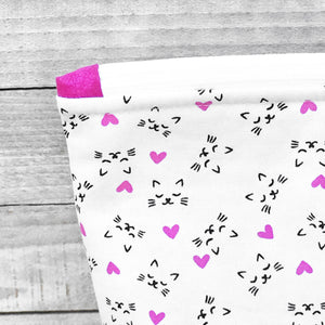 Tiny Dancer Cat Lover Zippered Project Bag