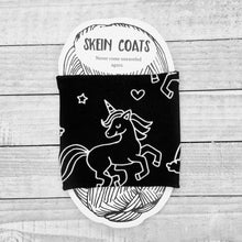 Black Beauty Unicorn Skein Coat