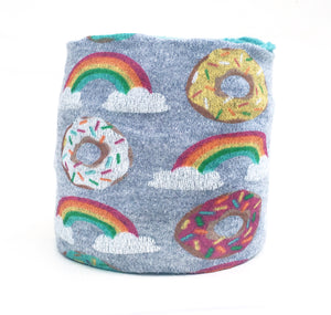 Doughnuts & Rainbows Skein Coat