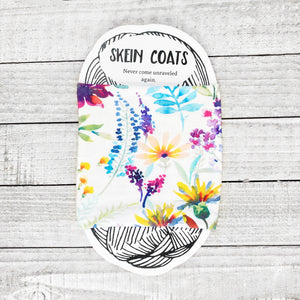 Watercolor Garden Skein Coat
