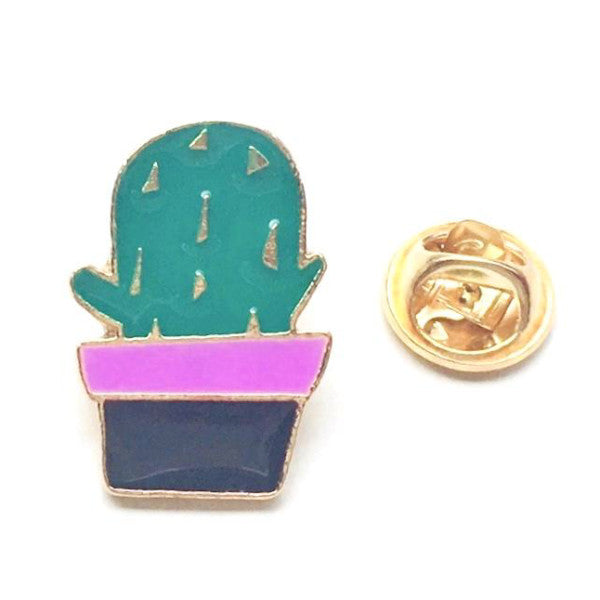 cactus pin front view