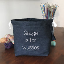 Special Listing for Elizabeth Wussies Drawstring Project Bag