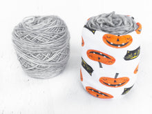 Halloween Pumpkin Yarn Bowl for Knitting & Crochet