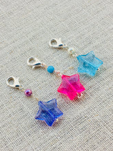 Lightweight Colorful Star Locking Stitch Markers