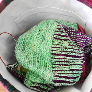 Yarn Addict Drawstring Project Bag