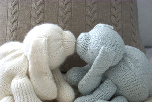 Toy Puppy Dog Knitting Pattern