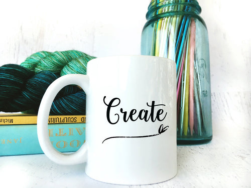 Inspirational Create Coffee Mug