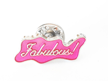 Fabulous Pink Hard Enamel Pin