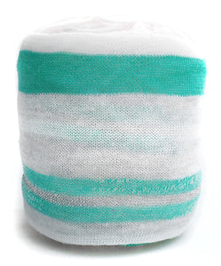 Peppermint Striped Yarn Cozy