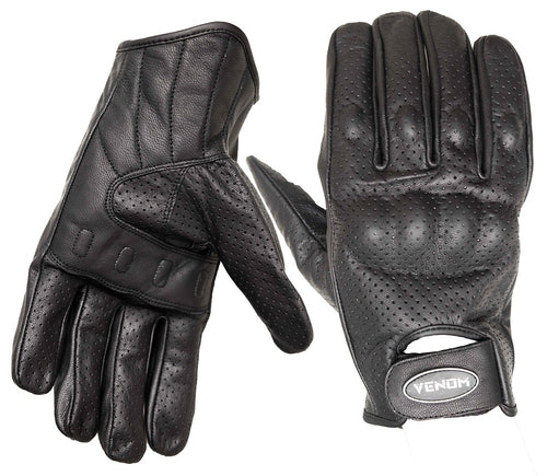 Venom Throttler Short Riding Summer Gloves