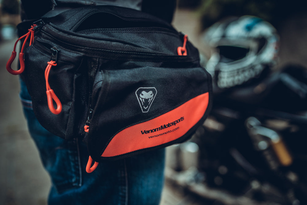 Venom Voyager Waistbag (Black and Red)