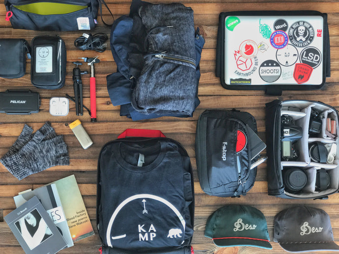 What's in My Bag for Outdoor Retailer?
