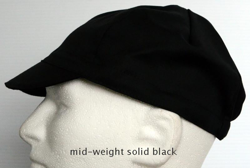 SWRVE Blk Label 4-Panel Wool Cap, Black