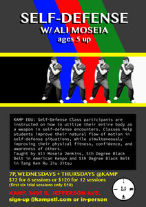 KAMP EDU: Self-Defense Course (6-week session)