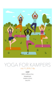 KAMP Yoga for KAMPers (Ages 17+)