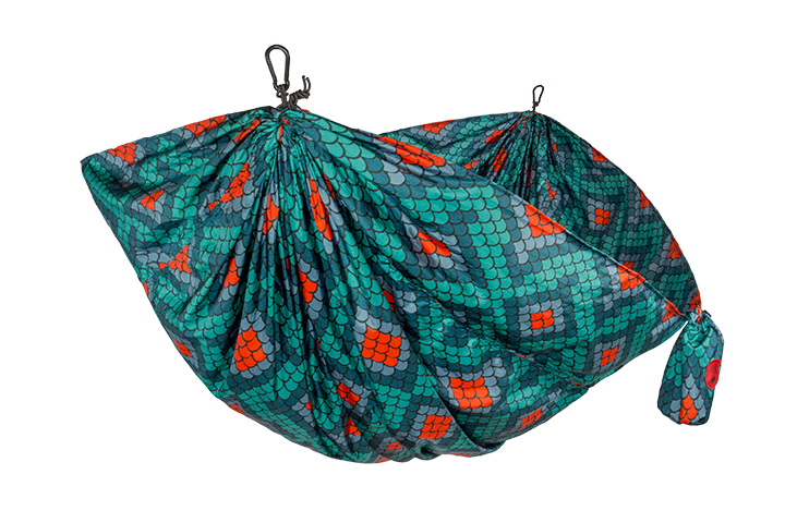 Grand Trunk Parachute Nylon Hammock, Double, Firebelly