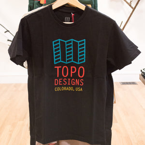 Topo Original Logo T-Shirt, Black, Small