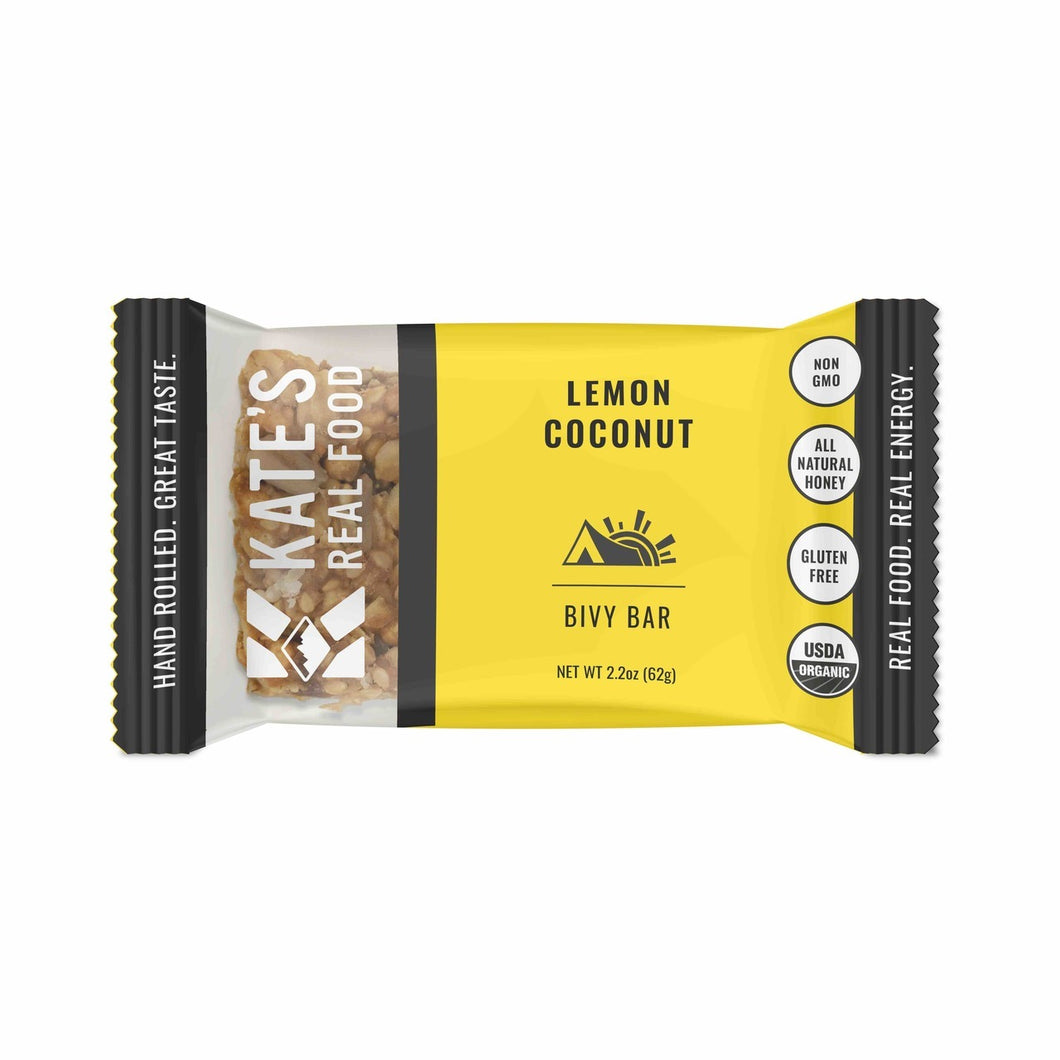 Kate's Real Food, Bivy Bar (Lemon Coconut)