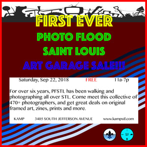 Art Garage Sale with Photo Flood Saint Louis