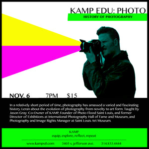 KAMP EDU: Photo- History of Photography