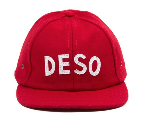 Deso Supply Wool Cap, Red