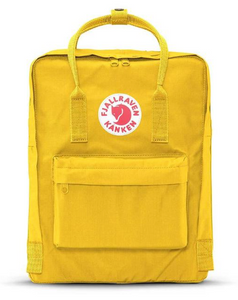 Fjallraven Kanken, Warm Yellow