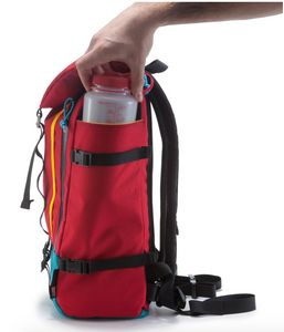Topo Mountain Pack, Red