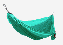 Grand Trunk Parachute Nylon Hammock, Single, Mint/Green